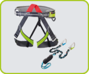 -Ferrata equipment