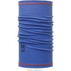 Buff 3/4 Merino Wool Solid Blue Ink - Blue Ink