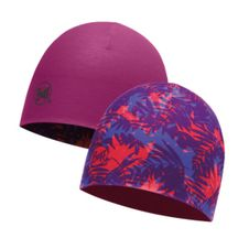Buff Coolmax Reversible Hat - gals lilac - boysenberry