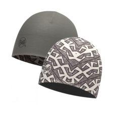 Buff Coolmax Reversible Hat - interference gargoyle - grey