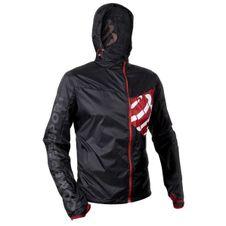 Compressport kabát kabát-fekete hurrikán
