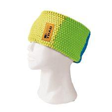 Skitrab Lines Headband - yellow/green/blue