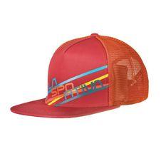 La Sportiva Trucker Hat Stripe 2.0 - cardinal/red flame