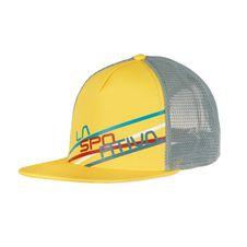 La Sportiva Trucker Hat Stripe 2.0 - lemonade/stone blue