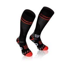 Compressport zokni-fekete zokni teljes v2.1