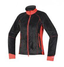 Directalpine láva lady kabát-fekete/piros