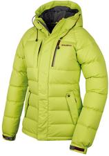 Husky Dámska extrémna perová bunda Arctis New -30°C zelená