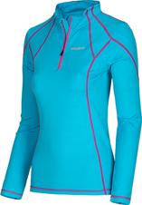 Husky Dámske termo tričko - jeseň, zima T-EB Long sleeve zip L modrá