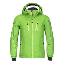 Husky Detská lyžiarska bunda Lona zelená