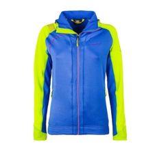 La Sportiva Kix Hoody Women - cobalt blue/apple green