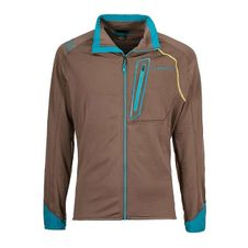 La Sportiva Shamal Jacket - falcon brown/tropic blue