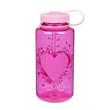 Nalgene Wide Mouth 1.0 l - Heart Bottle