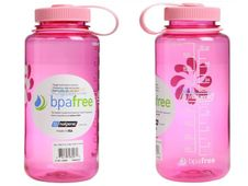 Nalgene Wide Mouth 1.0 l - Pink Tritan