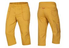 Ocún Jaws pants 3/4 - Golden yellow