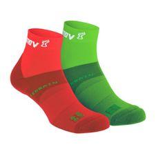 Inov-8 All Terrain Sock Mid - green/red