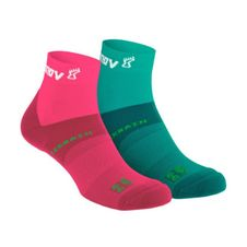 Inov-8 All Terrain Sock Mid - teal/coral