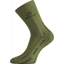 Tartós WLS-zöld zokni