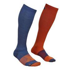Ortovox Tour Compression Socks - night blue