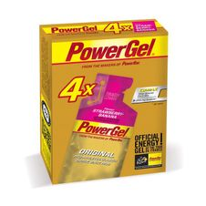 PowerBar PowerGel 41g - strawberry/banana 3+1 gratis