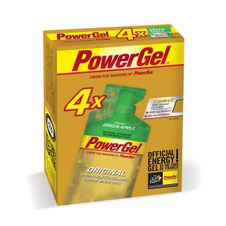PowerBar PowerGel 41g - green apple/coffein 3+1 zdarma