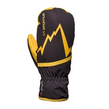 La Sportiva Gloves Skimo Mittens - black/yellow