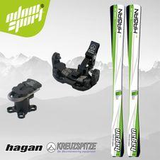 Set Hagan Cirrus 16/17 + Kreuzspitze SCTTT Titanium