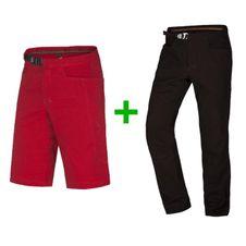 Set Krátke nohavice Ocún Honk Shorts Men  + Nohavice Ocún Honk Pants - Dark