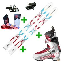 La Sportiva GTS 2.0 + La Sportiva Starlet 2.0 + Fischer Tour Speed Turn + Gecko skins
