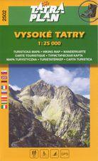 TM 2502 Vysoké Tatry 1:25 000
