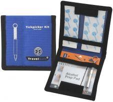Utazás biztonságos Kit Tickpicker fogó készlet