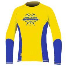 Tričko Directalpine Shark 1.0 - gold/blue