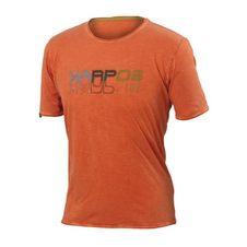 Karpos Fonzaso Wall T-Shirt - tangerine tango