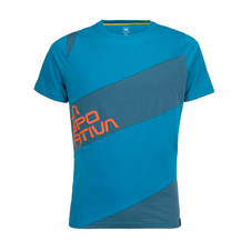 La Sportiva Slab T-Shirt - tropic blue/lake