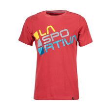 La Sportiva Square T-Shirt - cardinal red