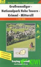 Turistická mapa 1:35T -  Großvenediger, Nationalpark Hohe Tauern