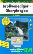 Turistická mapa 1:50T - Großvenediger Oberpinzgau