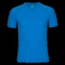 Zajo Bjorn Merino Tshirt SS - modrá