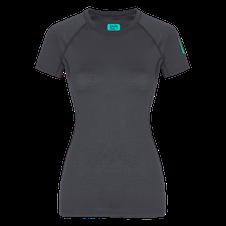Zajo Elsa Merino W T-shirt SS - gray
