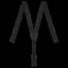 Zajo Suspenders - čierna