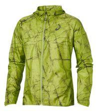 Asics kabát JKT Fujitrail Pack-Lime