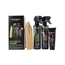 Impregnácia Granger´s Footwear Care Kit