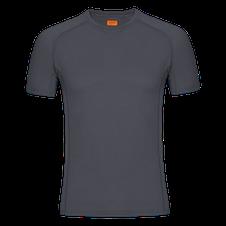 Zajo Bjorn Merino Tshirt SS - sivá