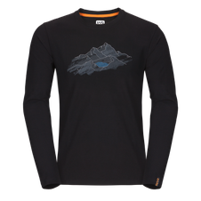 Zajo Bormio T-shirt LS - black nature